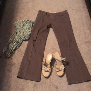 Anthropologie G1 size 8 stretch Goods pants